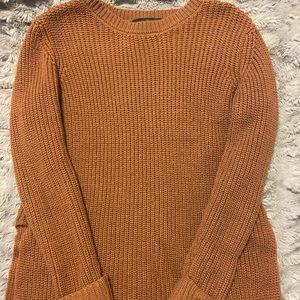 Burnt orange forever 21 small sweater
